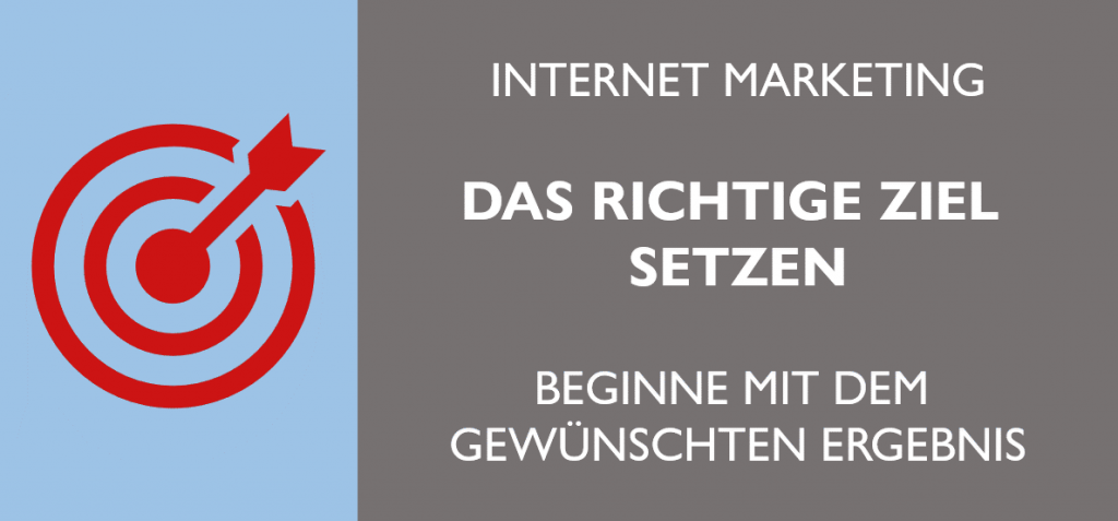 Marketing Ziel setzen